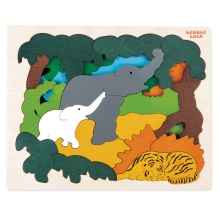 Asian animals by Hape