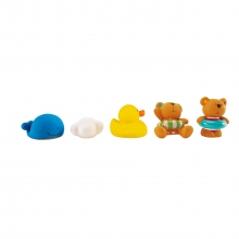 Teddy and Friends Bath Squirts by Hape