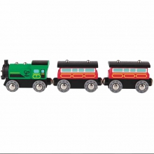 Steam-Era Passenger Train by Hape