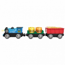 Battery Powered Rolling-Stock Set by Hape
