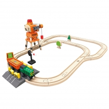 Crane & Cargo Set by Hape