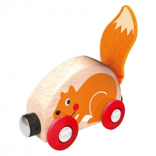 Tactile Animal Train by Hape