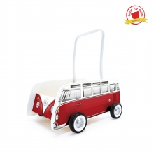 Classical Bus T1 Walker (Red) by Hape
