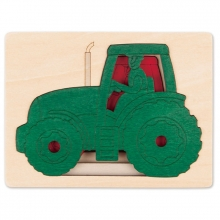 Five Tractors by Hape