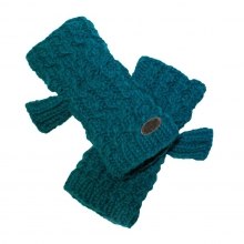 Nepal: Mika Fingerless Mittens by Turtle Fur in Folsom Ca