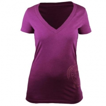Womens Spirit Turtle V-Neck Tee