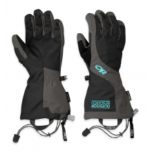 Women's Arete Gloves by Outdoor Research in Courtenay Bc
