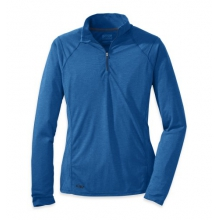 Women's Essence L/S Zip Top by Outdoor Research in Oklahoma City Ok