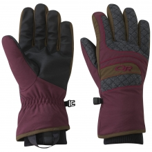 Women's Riot Gloves by Outdoor Research in Courtenay Bc
