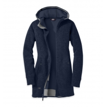 Women's Salida Long Hoody by Outdoor Research in Mobile Al