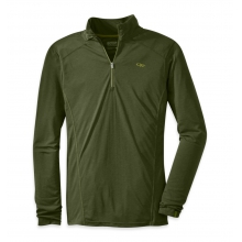 Men's Sequence L/S Zip Top by Outdoor Research in Peninsula Oh