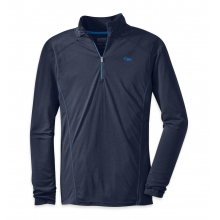 Men's Sequence L/S Zip Top by Outdoor Research in Waterbury Vt