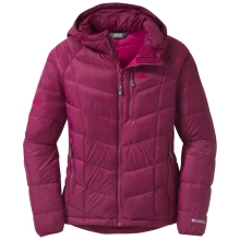 Women's Sonata Hooded Down Jacket by Outdoor Research in Revelstoke Bc