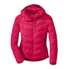 Women's Sonata Hooded Down Jacket by Outdoor Research in Iowa City Ia