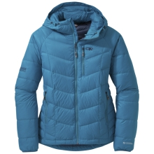 Women's Sonata Hooded Down Jacket by Outdoor Research in Oro Valley Az