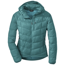 Women's Sonata Hooded Down Jacket by Outdoor Research in Waterbury Vt