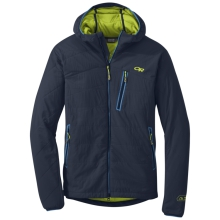 Men's Uberlayer Hooded Jacket by Outdoor Research in Revelstoke Bc