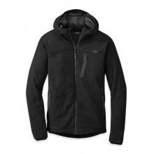 Men's Uberlayer Hooded Jacket by Outdoor Research in Durango Co