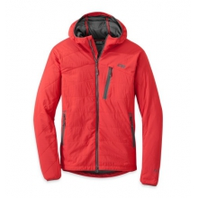 Men's Uberlayer Hooded Jacket by Outdoor Research in Boiling Springs Pa