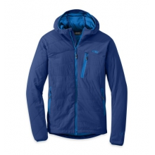 Men's Uberlayer Hooded Jacket by Outdoor Research in Ramsey Nj