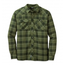 Men's Feedback Flannel Shirt by Outdoor Research in Nibley Ut