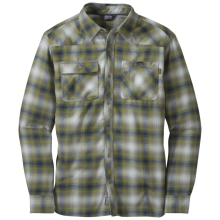 Men's Feedback Flannel Shirt by Outdoor Research in Santa Monica Ca