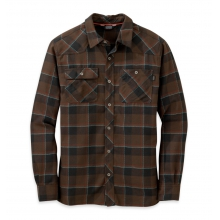 Men's Feedback Flannel Shirt by Outdoor Research in Ponderay Id