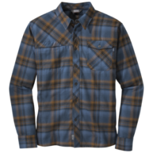 Men's Tangent L/S Shirt by Outdoor Research in Red Deer Ab
