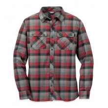 Men's Crony L/S Shirt by Outdoor Research in Red Deer Ab