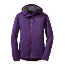 Women's Uberlayer Hooded Jacket by Outdoor Research in Costa Mesa Ca