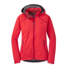 Women's Linchpin Hooded Jacket by Outdoor Research