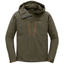 Men's Ferrosi Summit Hooded Jacket by Outdoor Research in Revelstoke Bc