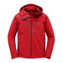 Men's Ferrosi Summit Hooded Jacket by Outdoor Research in Peninsula Oh