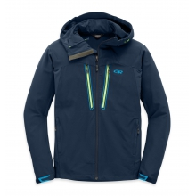 Men's Ferrosi Summit Hooded Jacket by Outdoor Research in Waterbury Vt