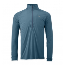 Men's Echo L/S Zip Tee by Outdoor Research in Wayne Pa