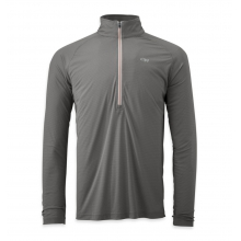 Men's Echo L/S Zip Tee by Outdoor Research in Corvallis Or