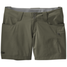 "Women's Ferrosi Summit 5"" Shorts by Outdoor Research in Flagstaff Az"