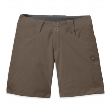 """Women's Ferrosi Summit 7"""" Shorts by Outdoor Research in Nelson Bc"""