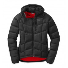 Women's Sonata Ultra Hooded Down Jckt by Outdoor Research in Waterbury Vt
