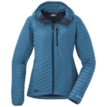Women's Verismo Hooded Down Jacket by Outdoor Research in Revelstoke Bc