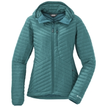 Women's Verismo Hooded Down Jacket by Outdoor Research in Flagstaff Az