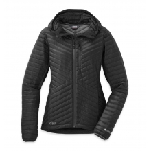 Women's Verismo Hooded Down Jacket by Outdoor Research in Victoria Bc