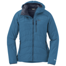 Women's Cathode Hooded Jacket by Outdoor Research in Nanaimo Bc
