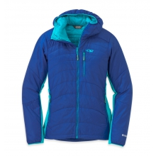 Women's Cathode Hooded Jacket by Outdoor Research in Boiling Springs Pa