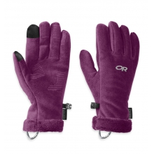 Women's Fuzzy Sensor Gloves