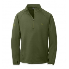 Men's Radiant LT Zip Top by Outdoor Research in Medicine Hat Ab