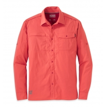 Men's Baja L/S Sun Shirt by Outdoor Research in Iowa City Ia