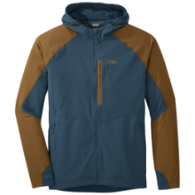 Men's Ferrosi Hooded Jacket by Outdoor Research in Little Rock Ar