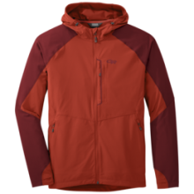 Men's Ferrosi Hooded Jacket by Outdoor Research in Canmore Ab