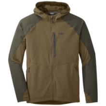 Men's Ferrosi Hooded Jacket by Outdoor Research in Tucson Az